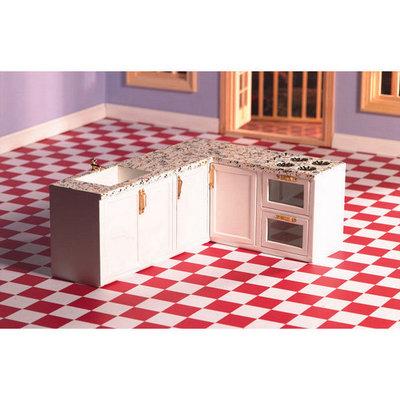 L-vormige alles in één keuken