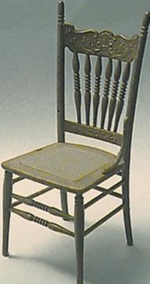 Victoriaanse stoel.