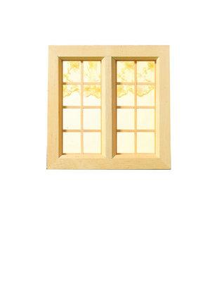 April Cottage, vierkant landelijk raam