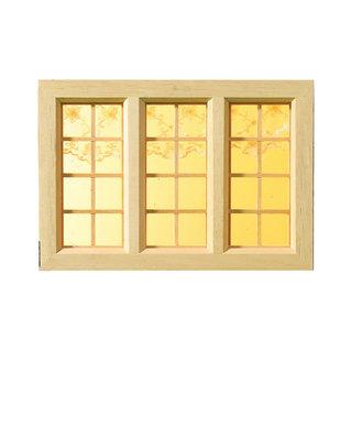 April Cottage, groot landelijk raam