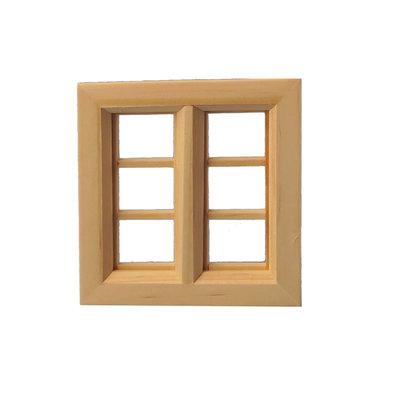Vierkant raamkozijn met 6 ramen