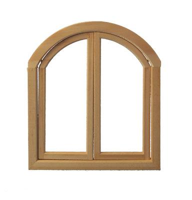Halfrond/vierkant raam