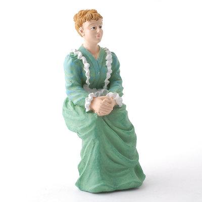 Zittende Victoriaanse dame
