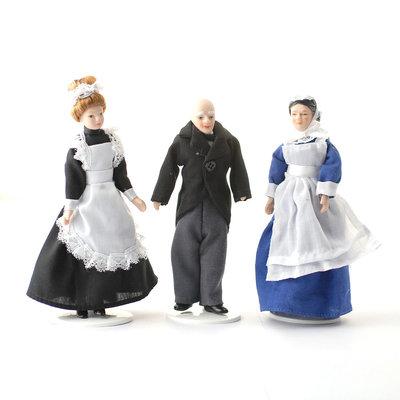 Set van 3 bedienden