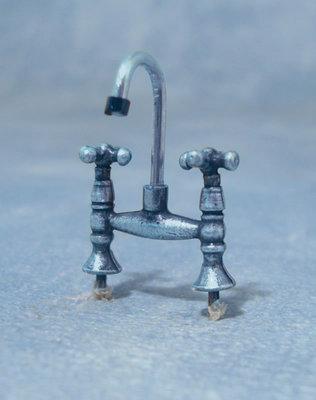 Keukenkraan voor warm/koud water
