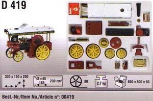 Bouwpakket voor Showman's Engine D409