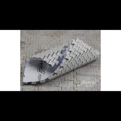 Flexyway straatsegmenten grijs, schaal 1:32-1:35