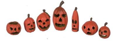 Pompoenen voor Halloween