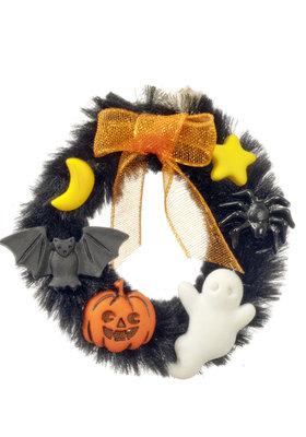 Halloween deurkrans