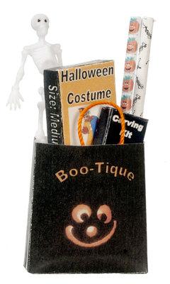 Halloween gevulde tas met cadeautjes