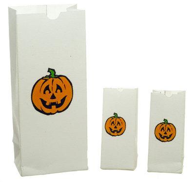 3 Halloween papieren zakken
