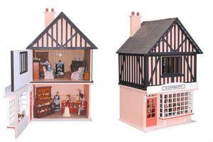 Winkel-woonhuis, ideaal voor kleinbehuisden.
