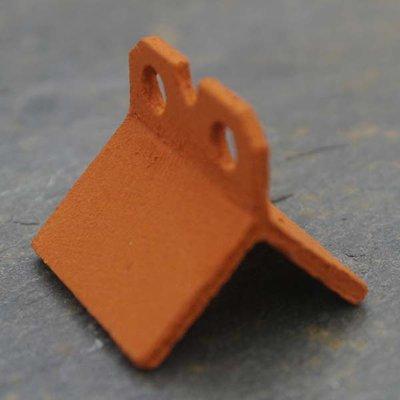 Nokpannen speciaal, rood, 25 mm