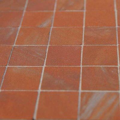 Plavuizen 19*19*2 mm vierkant, kleur Antique