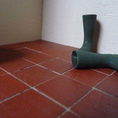 Plavuizen 19*19*2 mm vierkant, kleur Quarry