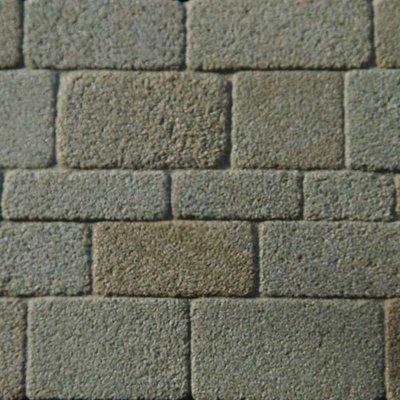 Coursed stones, grijs