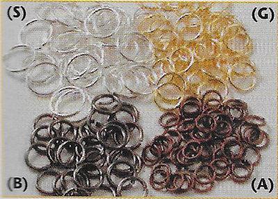 Ronde ringetjes 0.6*3 mm