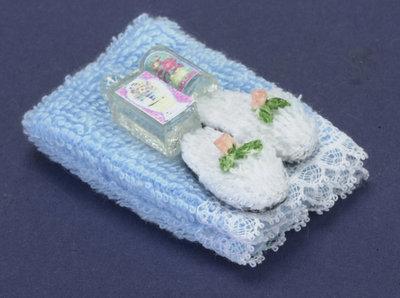 Handdoekenset met lotion