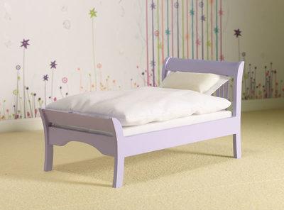 Lavendel eenpersoonsbed