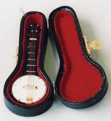 Banjo, incl. zwarte koffer