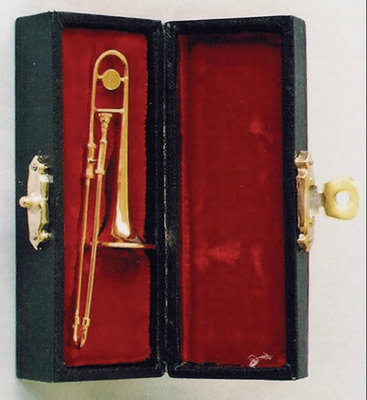 Trombone, incl. zwarte koffer