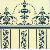 Behang Aubrey (met rand aan de bovenkant van het vel)