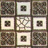 Behang met blokken design, afm. 432*279 mm