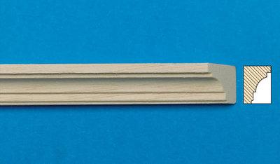 Blankhouten sierlatjes, afm. 300*13*10 mm