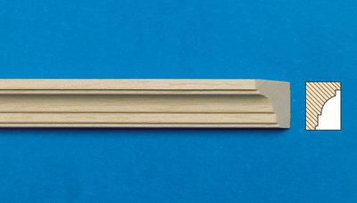 Blankhouten sierlatjes, afm. 450*13*10 mm