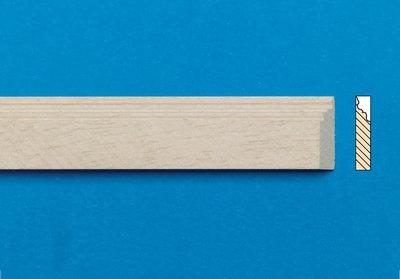 Blankhouten sierlatjes, afm. 16*305*4 mm