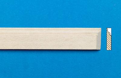 Blankhouten sierlatjes, afm. 16*456*4 mm