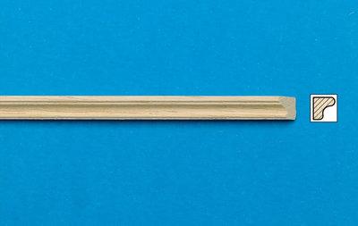 Blankhouten sierlatjes, afm. 450*5*4 mm