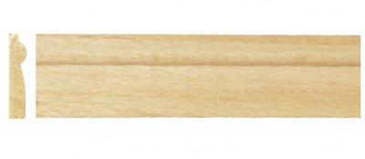 Blankhouten sierlatje, afm 457*13*3 mm
