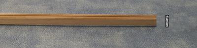 Blankhouten sierlatje, afm 600*14*3 mm