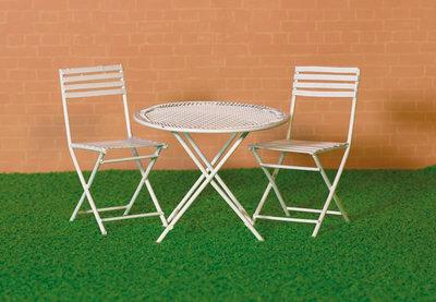 Bistro setje met 2 stoelen