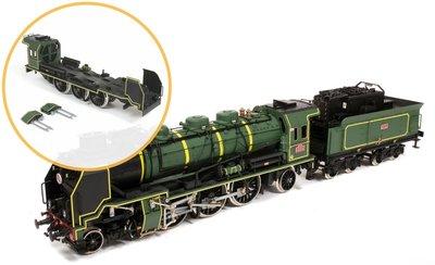 Pacific 231 stoomloc voor spoor1, deelpakket 4