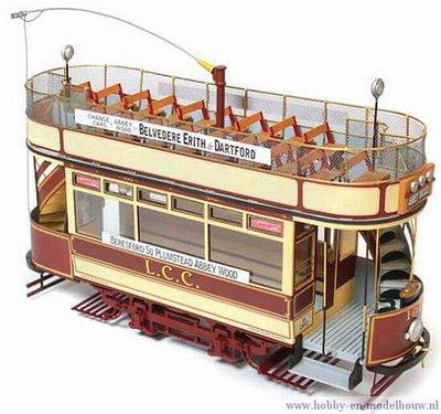 Bouwbeschrijving Tram London 106