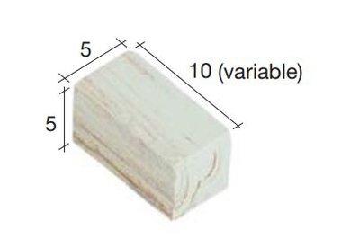 Bakstenen licht 10*5*5 mm