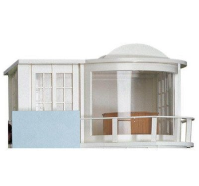 Serre/zonnendak voor Malibu strand huis
