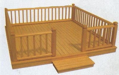 Complete terrasset 300*300 mm