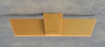 Amber Jack boog, afmeting: 230 x 90 x 4 mm