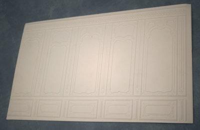 Wandpaneel, foam board, 35*21 cm
