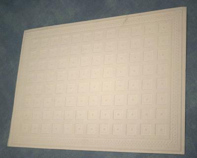 Plafond plaat, foam board, 35*25 cm