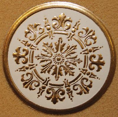 bloemen in reliëf gemaakt (papier)