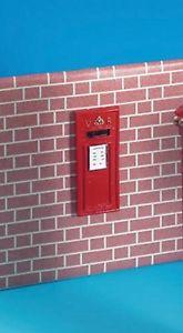 Muur brievenbus