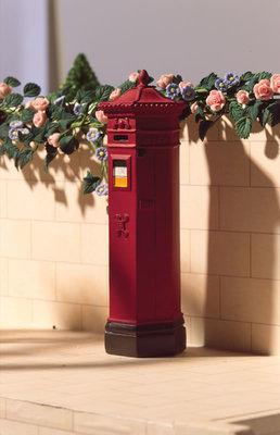 Victoriaanse engelse brievenbus
