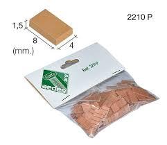 Daktegels 8*4*1.5 mm, ROOD
