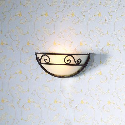 Wandlamp, decoratief halfrond
