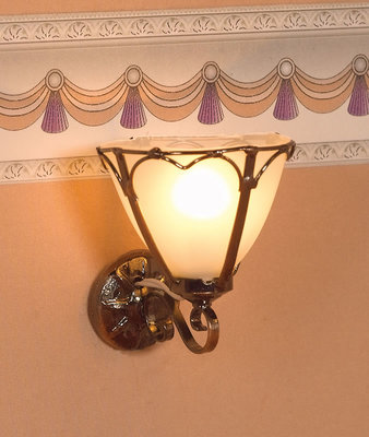 Wandlamp, 'Art Nouveau'