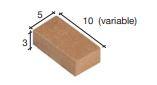 Bakstenen rood 10*5*3 mm
